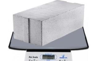 Сколько весит куб бетона