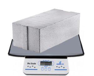 вес бетона