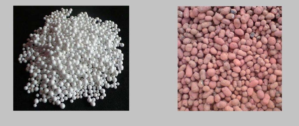 Заполнители легких бетонов: гранулы пенополистирола и керамзит
